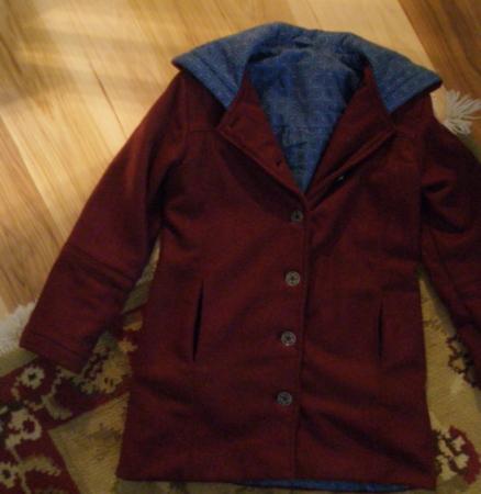 front of coat