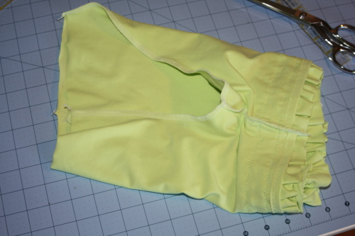 sew the crotch seam with right sides together
