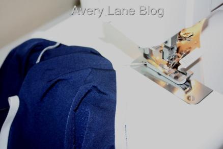 Avery Lane Blog: Serging Elastic sewing tutorial