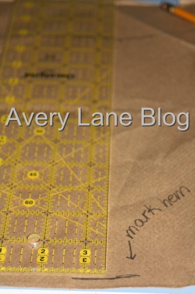 Avery Lane Blog: How to Draft a Wrap Style Swim Skirt