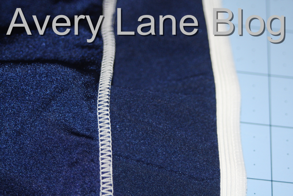 Avery Lane Blog: Serging Elastic sewing tutorial