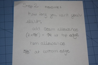 Avery Lane Blog: how to draft a simple swim skirt